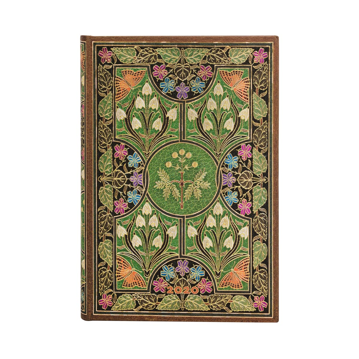 Paperblanks Mini Poetry in Bloom 2020 Day-At-A-Time Planner