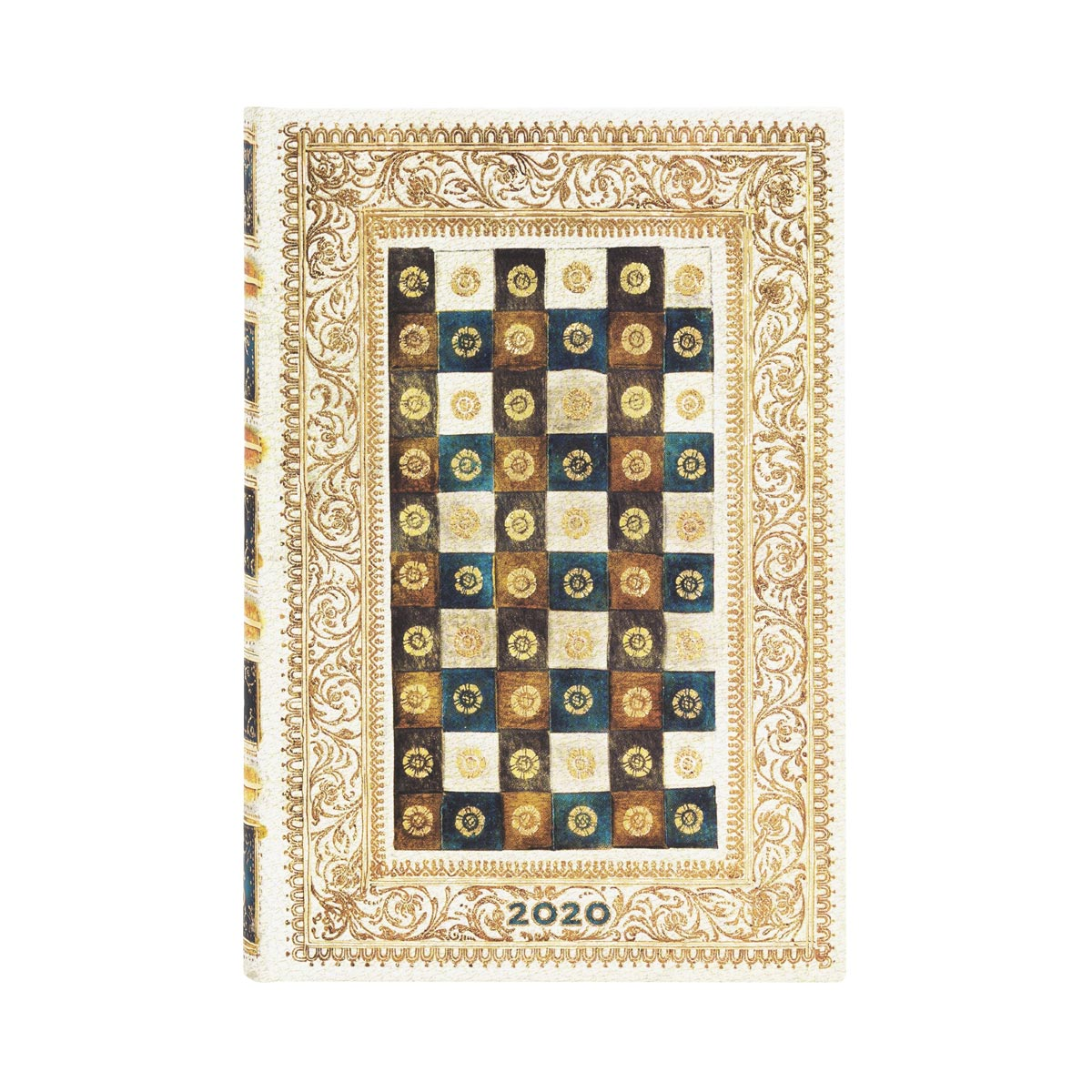 Paperblanks Mini Aureo 2020 Day-At-A-Time Planner