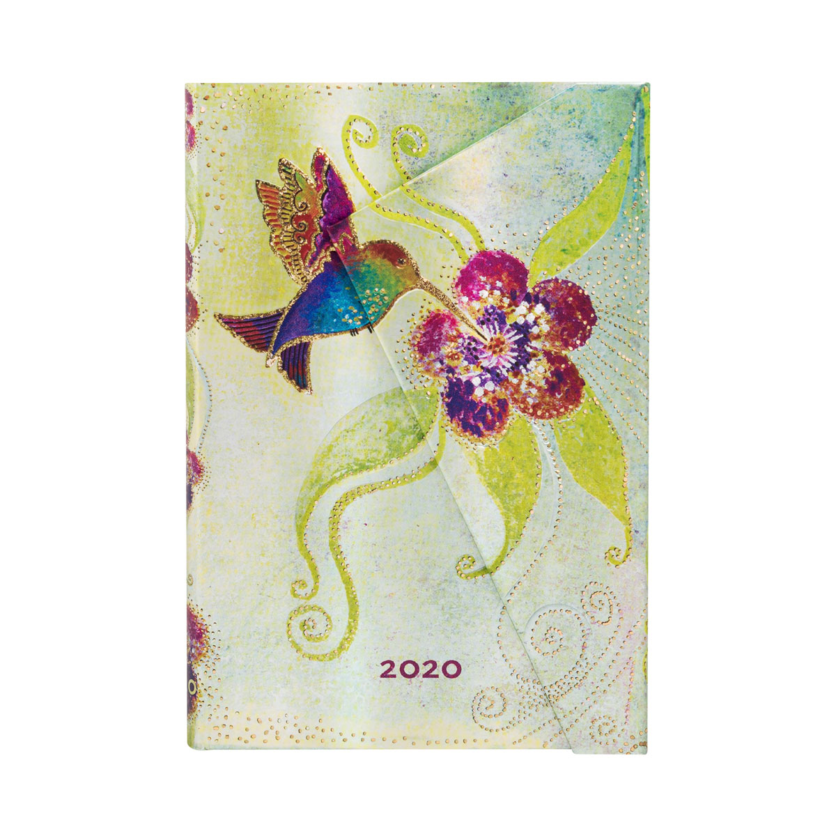 Paperblanks Mini Hummingbird 2020 Week-At-A-Time Planner