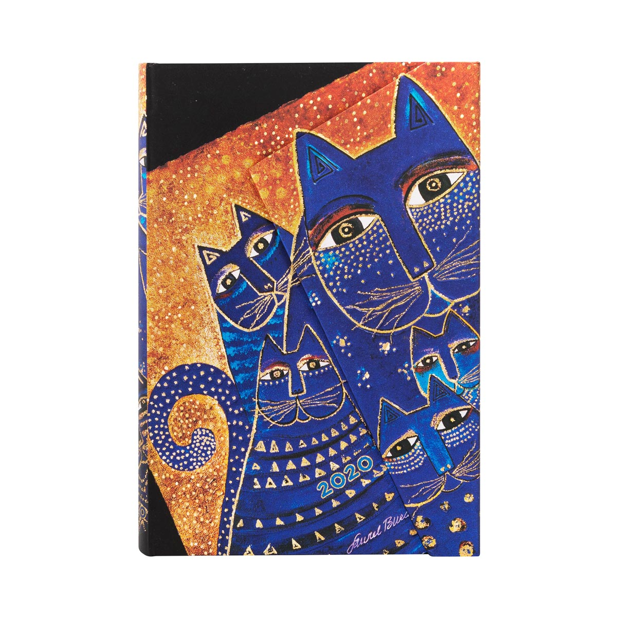 Paperblanks Mini Mediterranean Cats 2020 Week-At-A-Time Planner