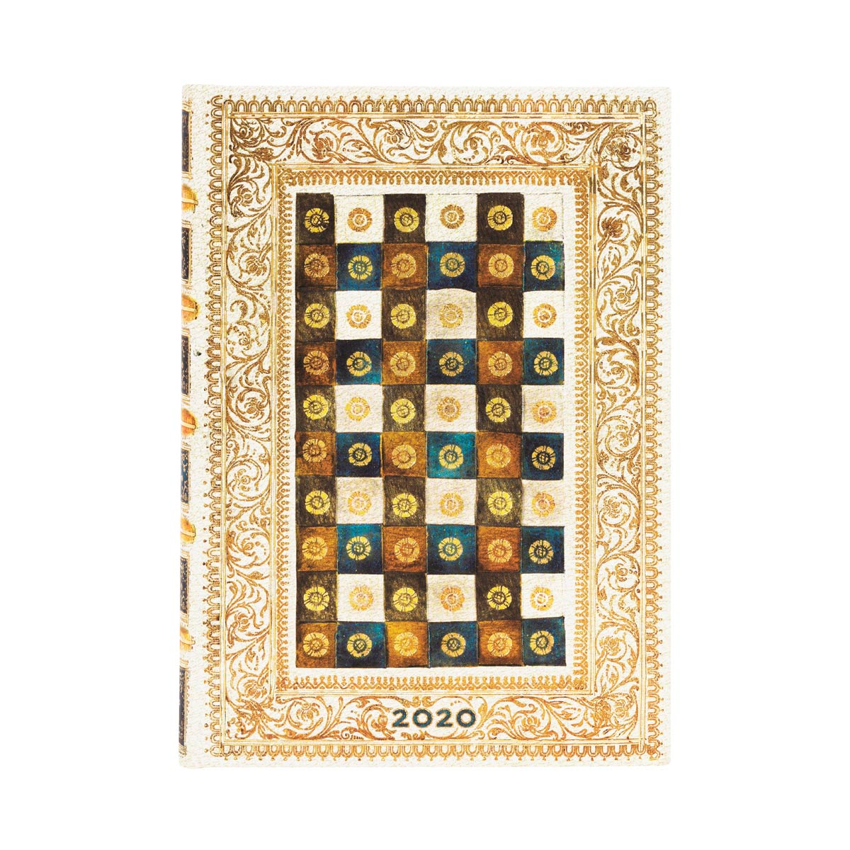 Paperblanks Midi Aureo 2020 Day-At-A-Time Planner