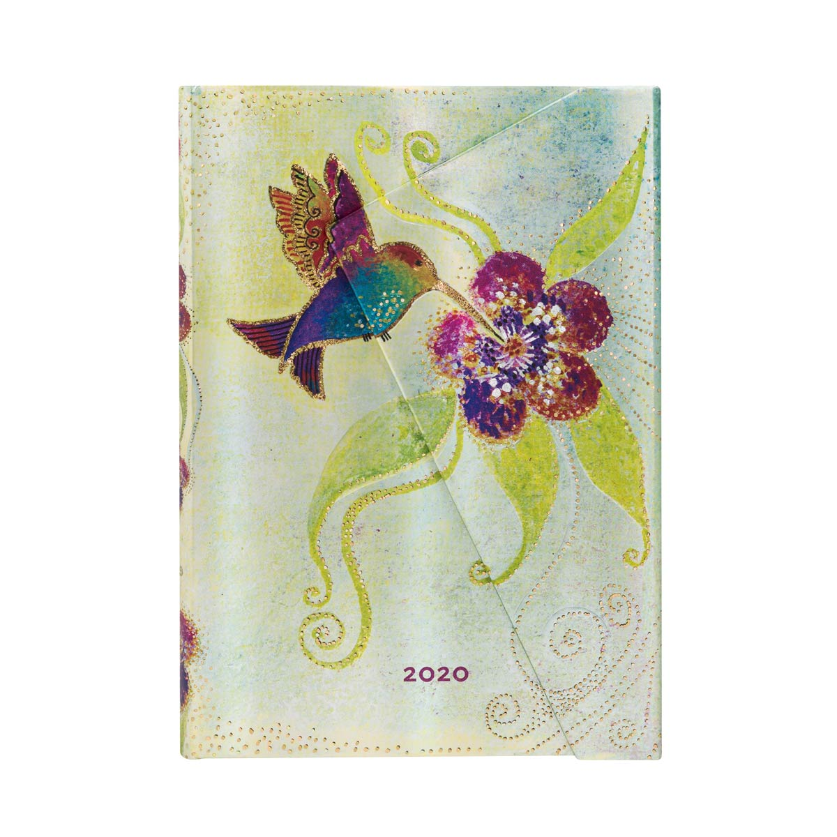Paperblanks Midi Hummingbird 2020 Day-At-A-Time Planner