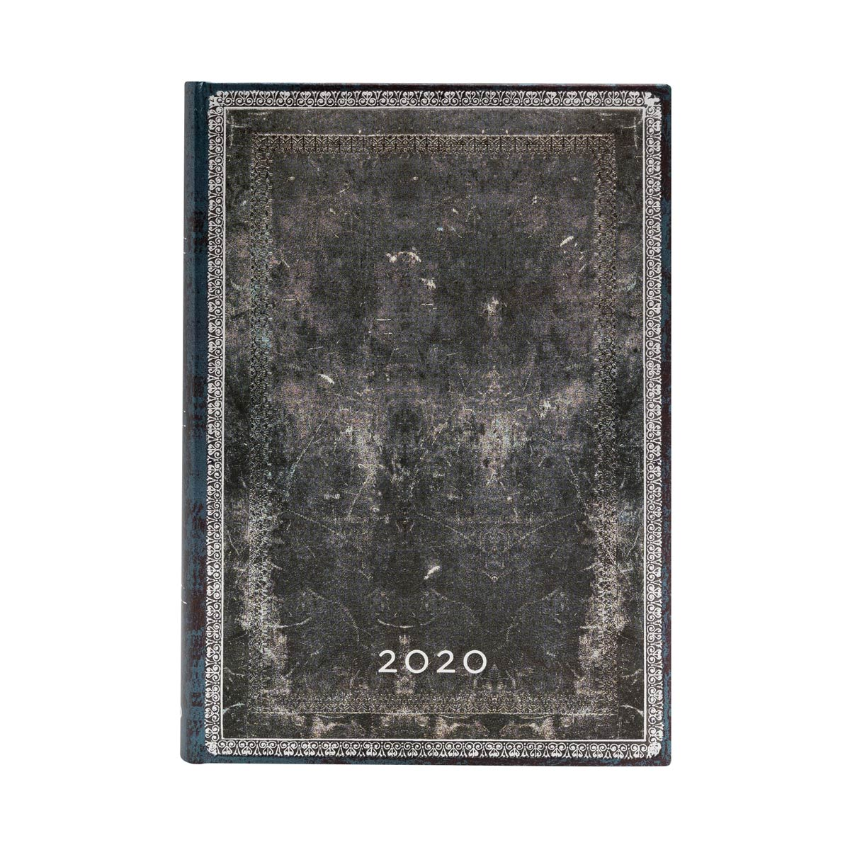 Paperblanks Midi Midnight Steel 2020 Day-At-A-Time Planner