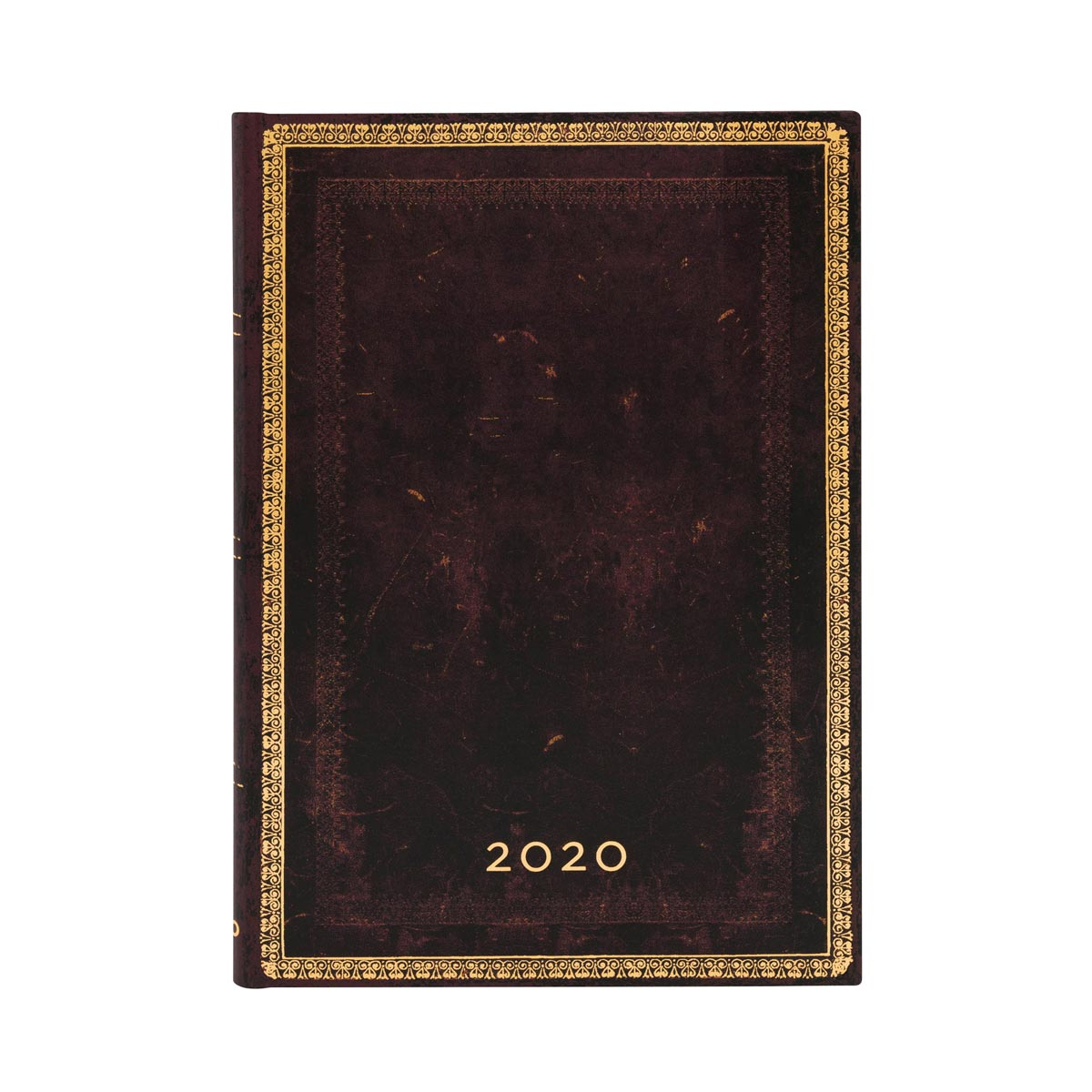 Paperblanks Midi Black Moroccan 2020 Week-At-A-Time Planner