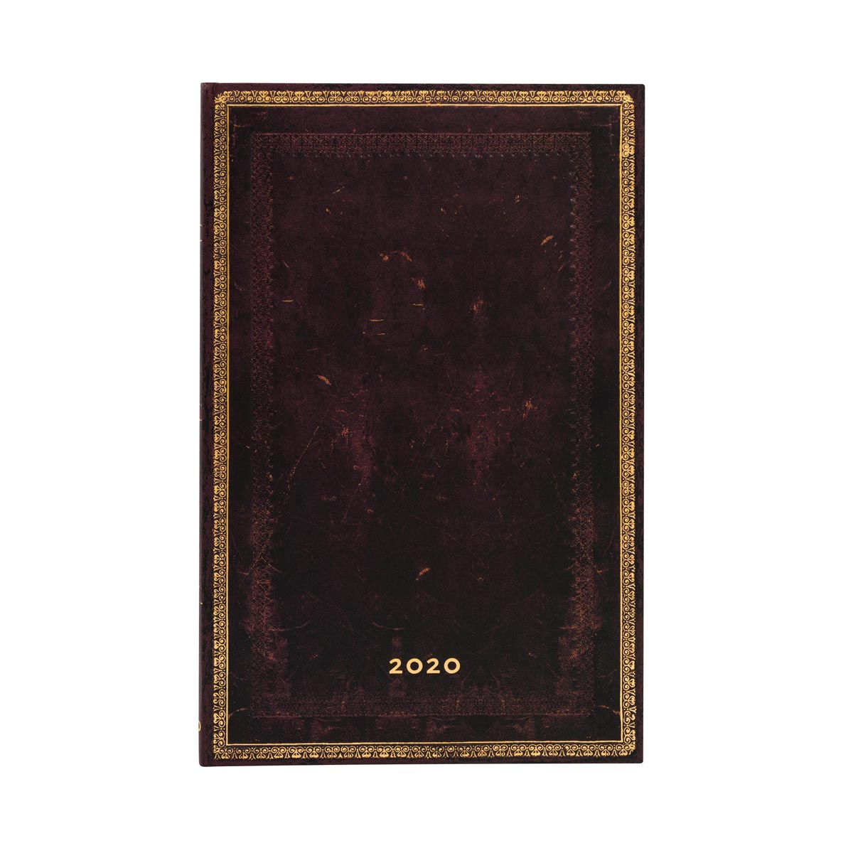 Paperblanks Maxi Black Moroccan 2020 Week-At-A-Time Planner
