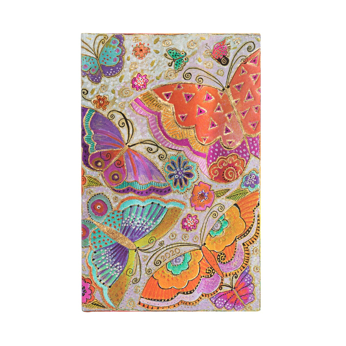 Paperblanks Maxi Flutterbyes 2020 Week-At-A-Time Planner