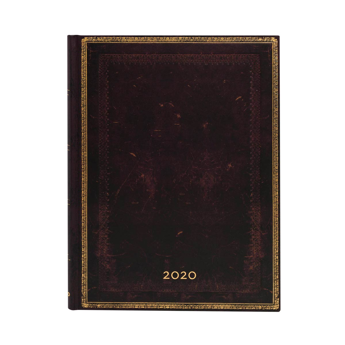 Paperblanks Ultra Black Moroccan 2020 Week-At-A-Time Planner