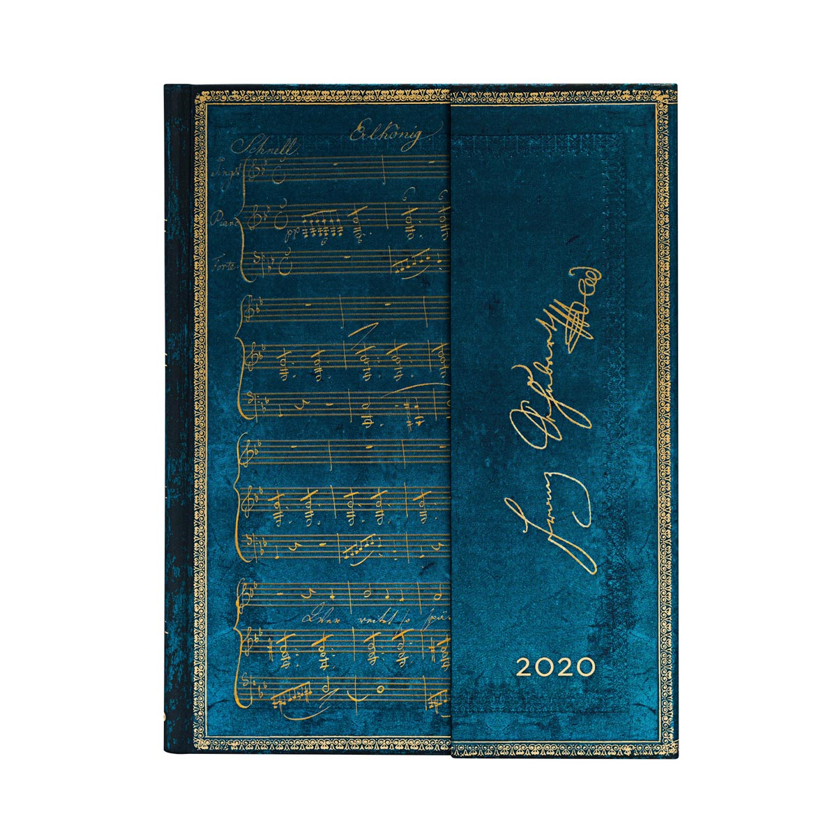 Paperblanks Ultra Schubert Erlkonig 2020 Week-At-A-Time Planner