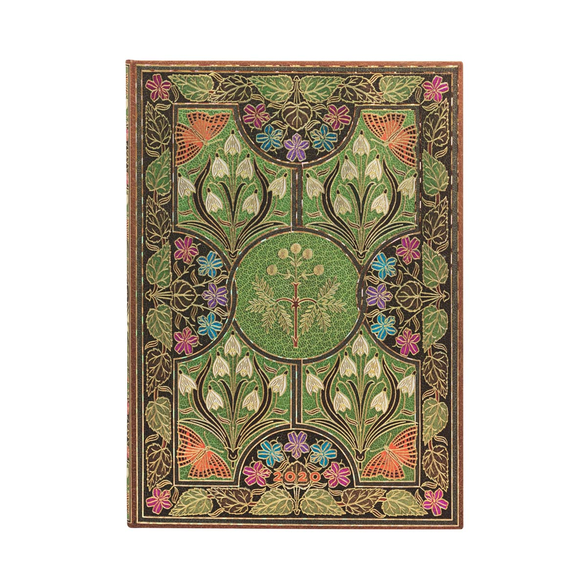 Paperblanks Grande Poetry in Bloom 2020 Week-At-A-Time Planner