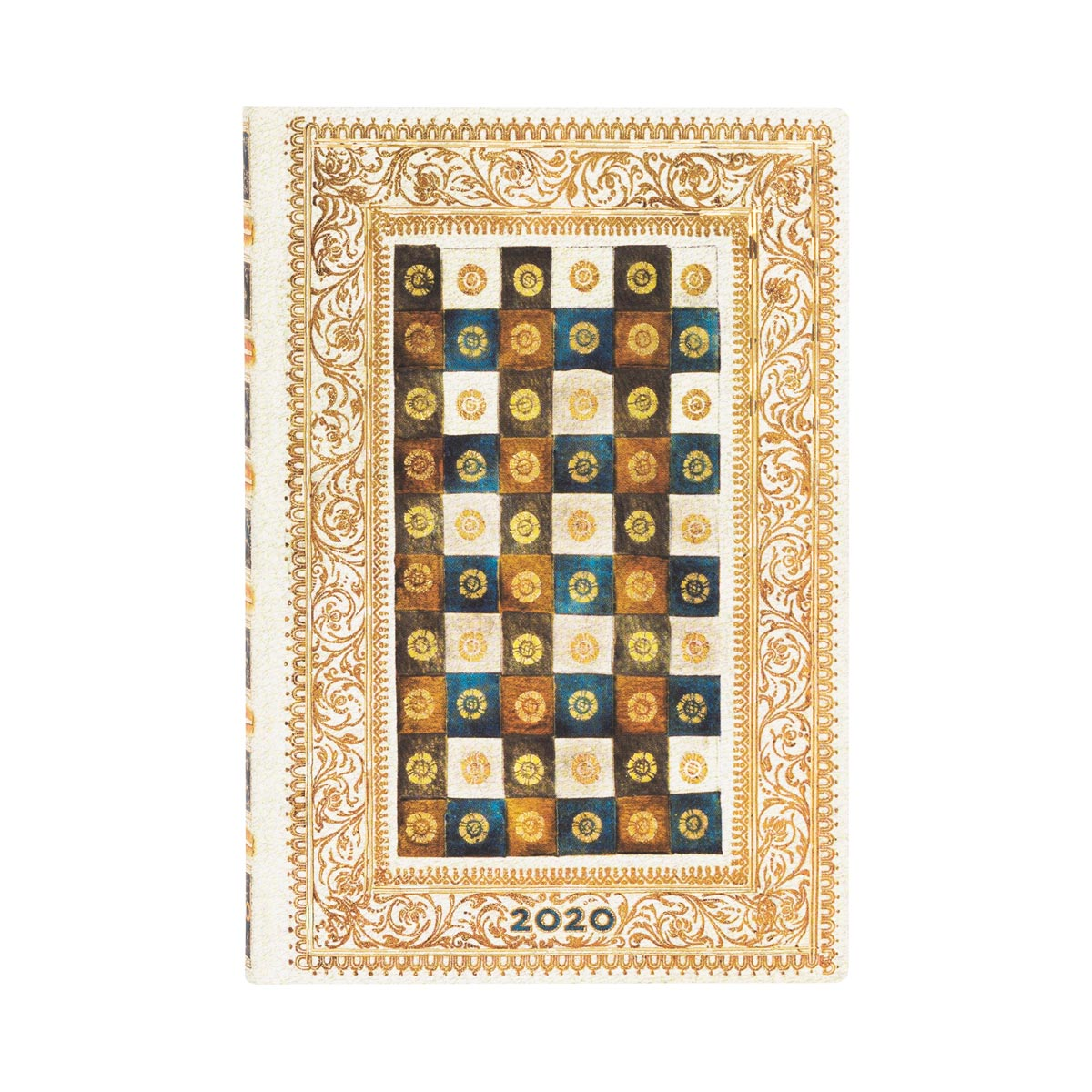 Paperblanks Mini Flexi Aureo 2020 Week-At-A-Time Planner