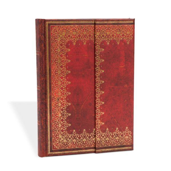 Paperblanks Old Leather Foiled Midi 5 x 7 Inch Journal