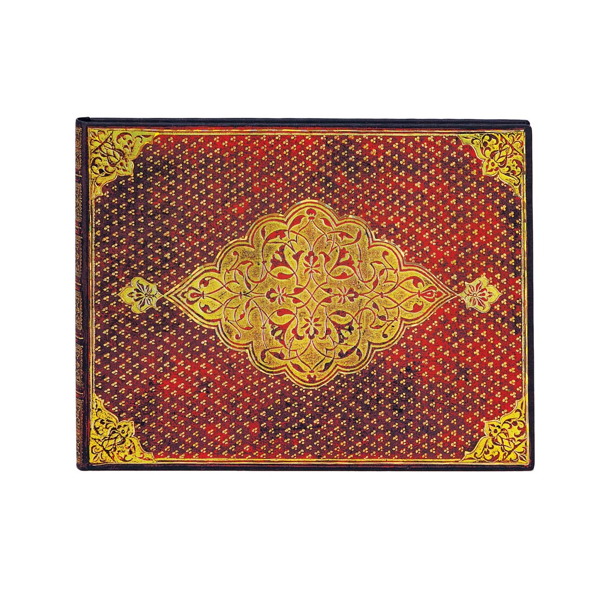 Paperblanks Golden Trefoil Guest Book 9 x 7 Inch