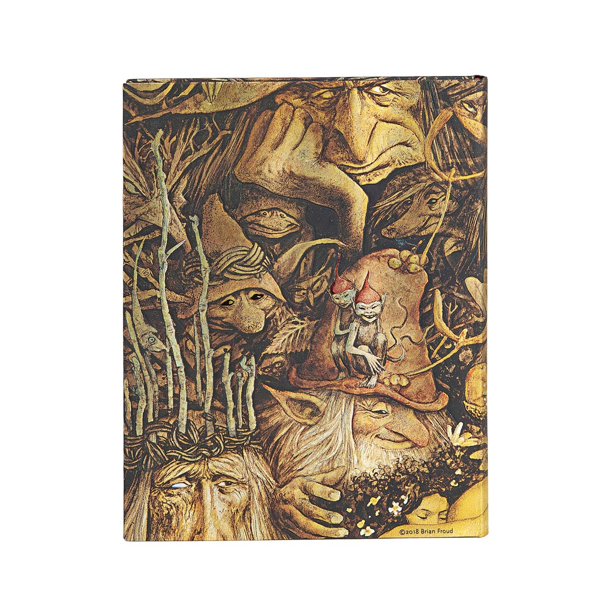 Paperblanks Brian Frouds Mischievous Creatures Ultra 7x9 Inch