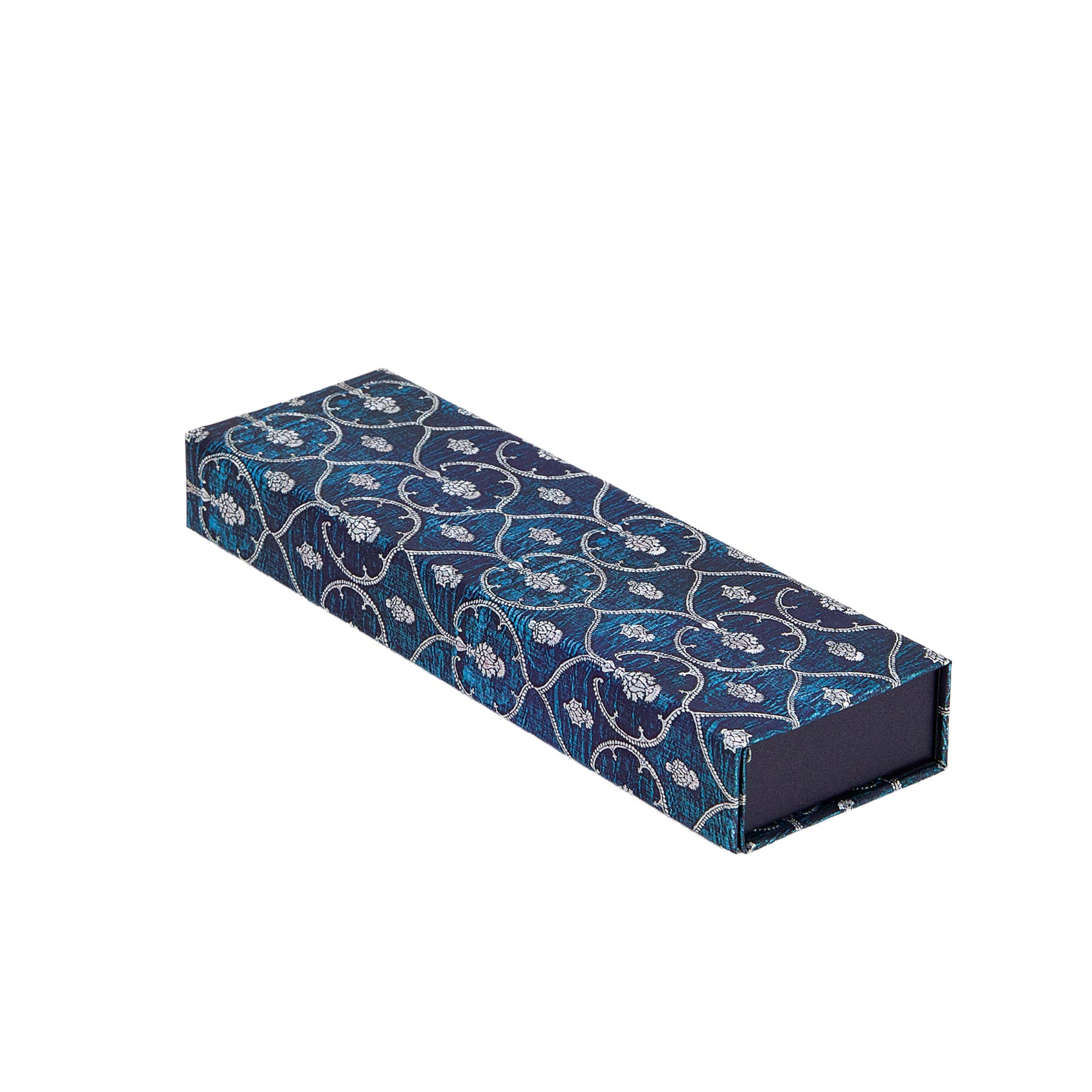 Paperblanks Blue Velvet Pencil Case 8.75 x 1.25 x 2.5 Inch