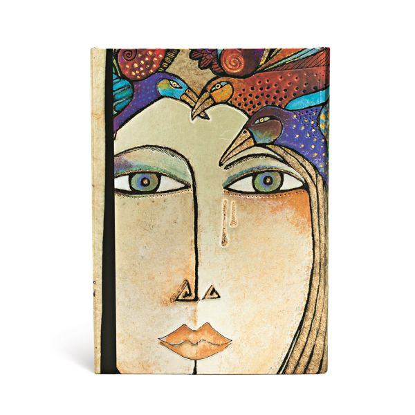 Paperblanks Laurel Burch Soul and Tears, Midi 5x7 Inch Journal