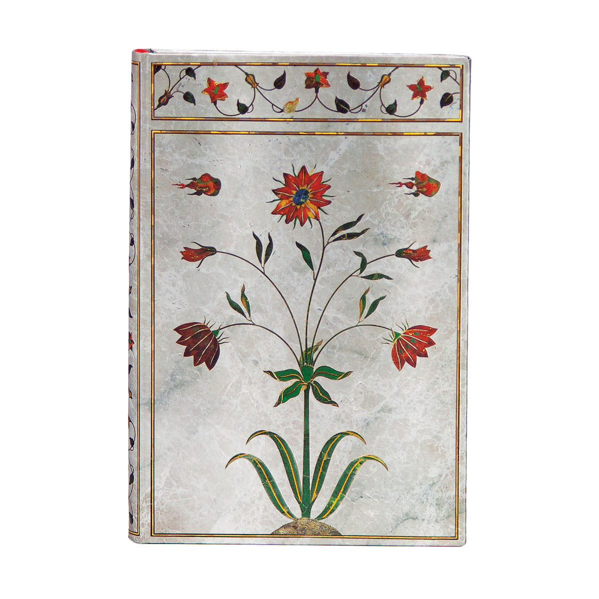 Paperblanks Taj Mahal Flowers, Mumtaz Mini 3.75 x 5.5 Journal