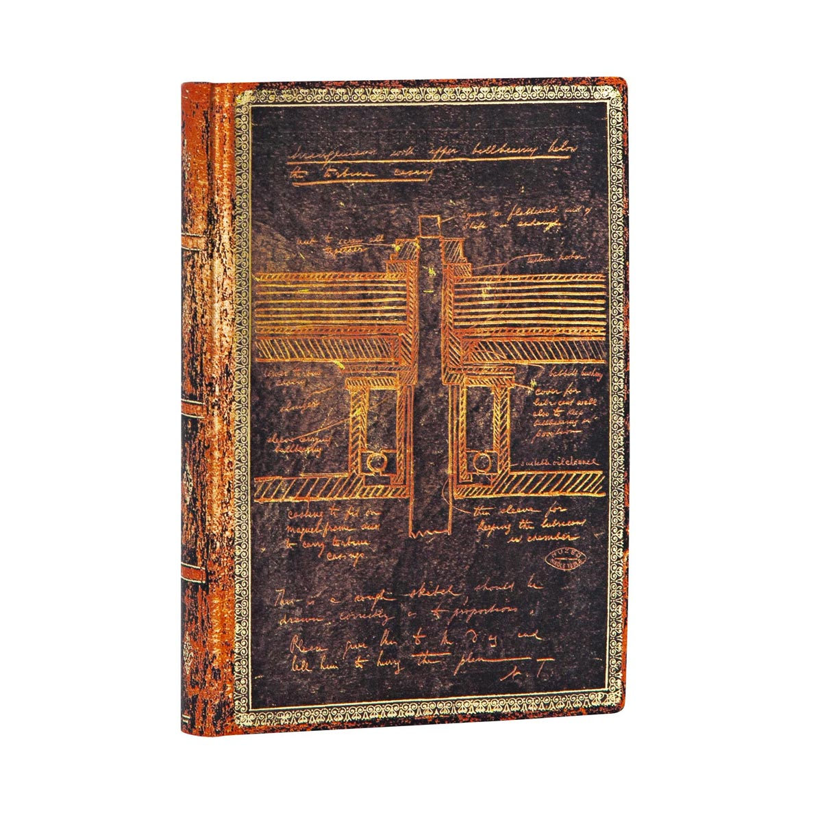 Paperblanks Flexis, Tesla Mini 3.75 x 5.5 Inch Journal