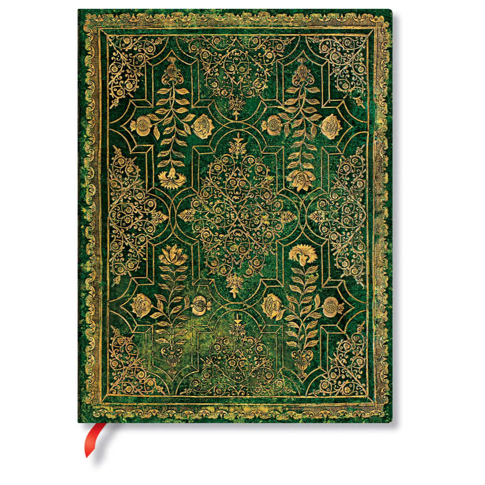 Paperblanks Flexis Fall Filigree Juniper Ultra 7x9 Inch 240 Page