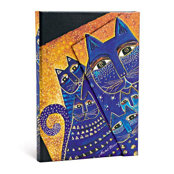 Paperblanks Laurel Burch Mediterranean Cats 4 x 5.5 Mini