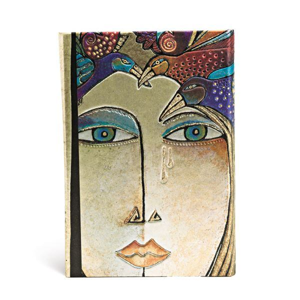 Paperblanks Laurel Burch Soul and Tears 4x5.5 Inch Mini Journal