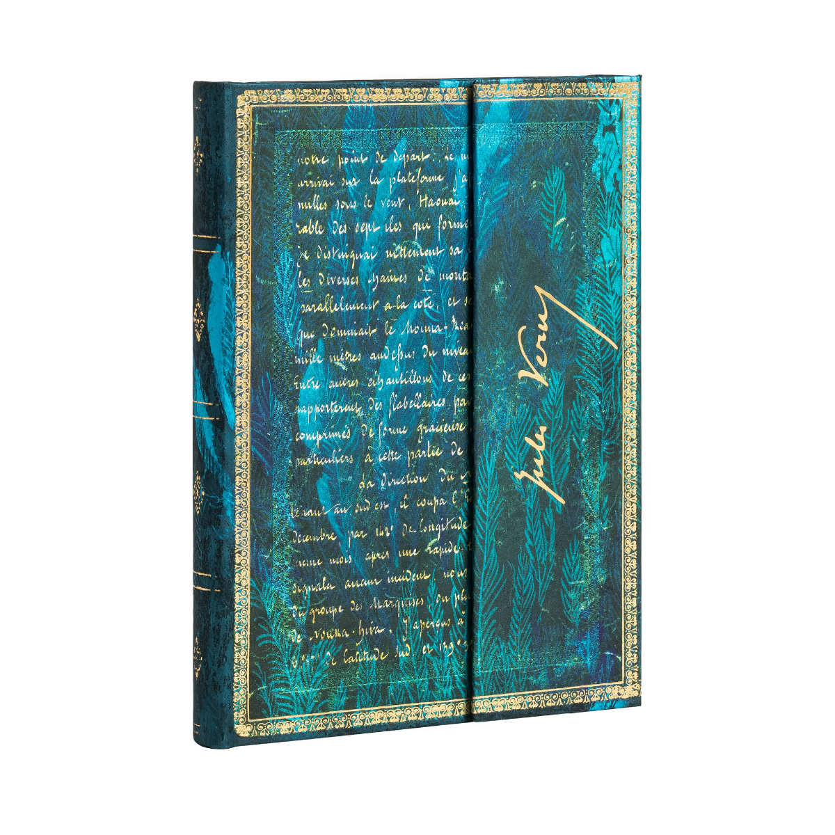 Paperblanks Verne Twenty Thousand Leagues Midi 5x7 Inch
