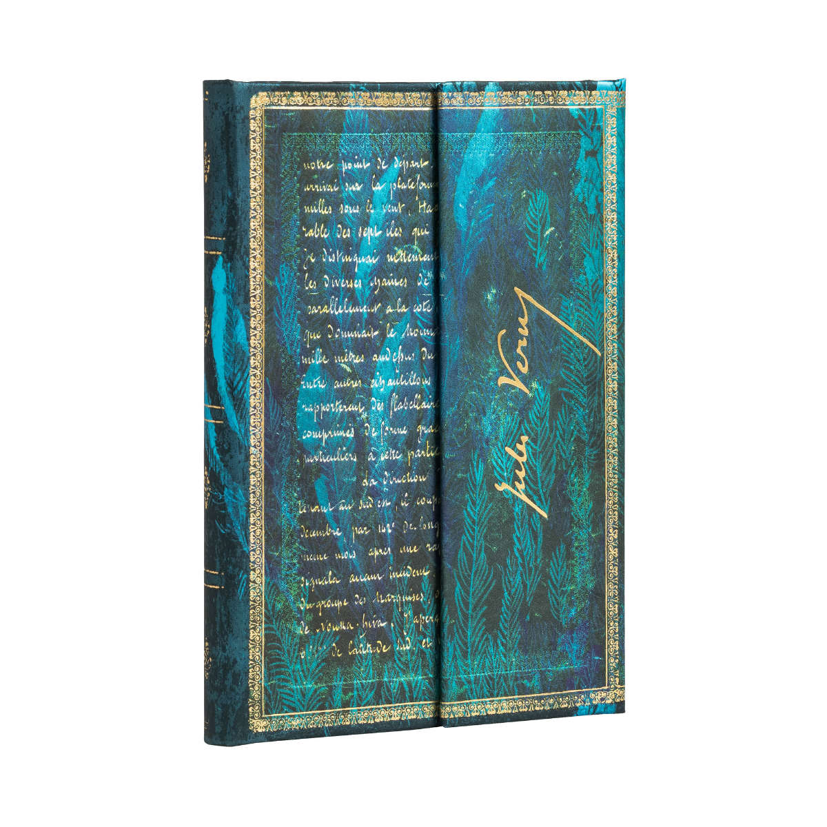 Paperblanks Verne Twenty Thousand Leagues Mini 4x5.5 Inch