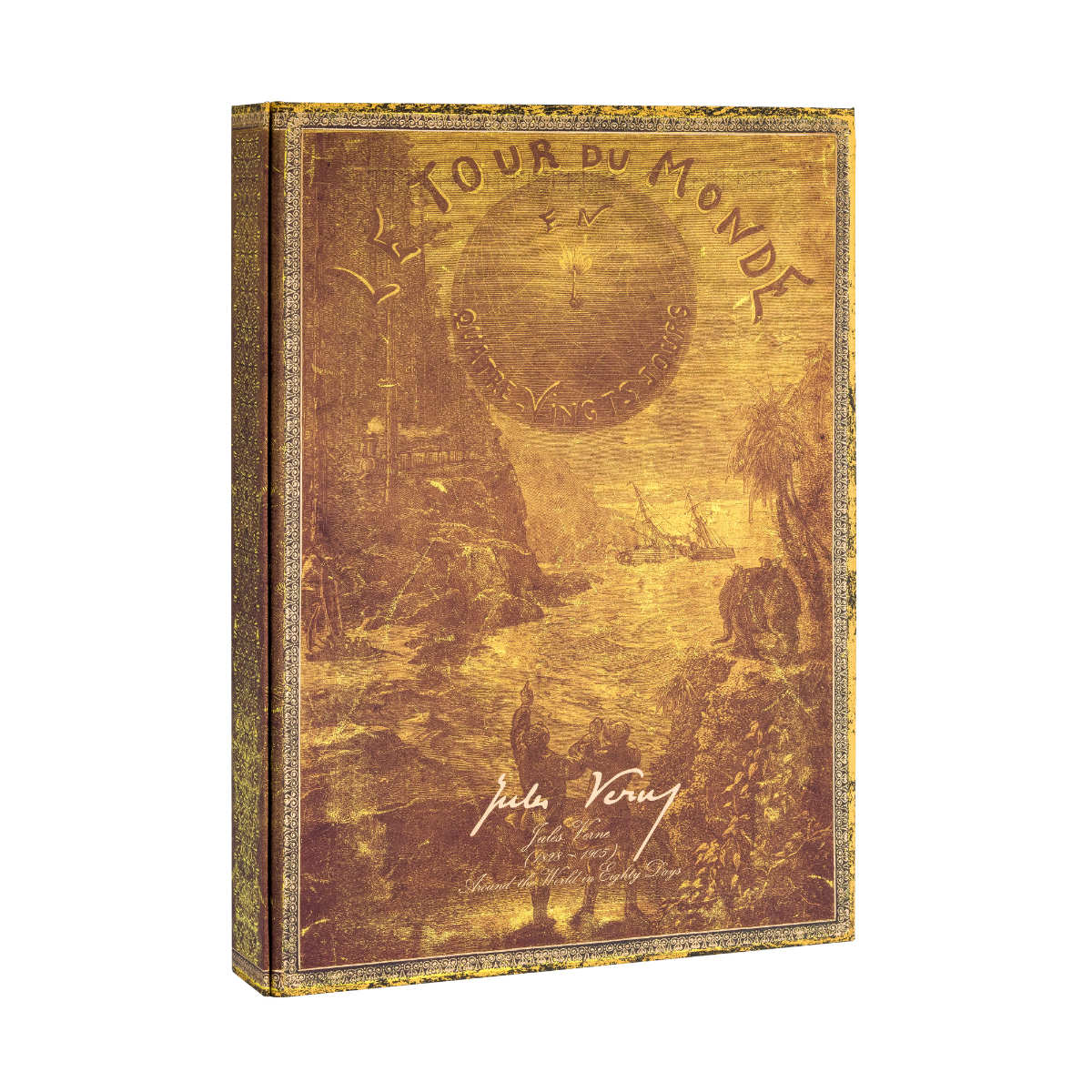 Paperblanks Jules Verne Around The World Manuscript Box