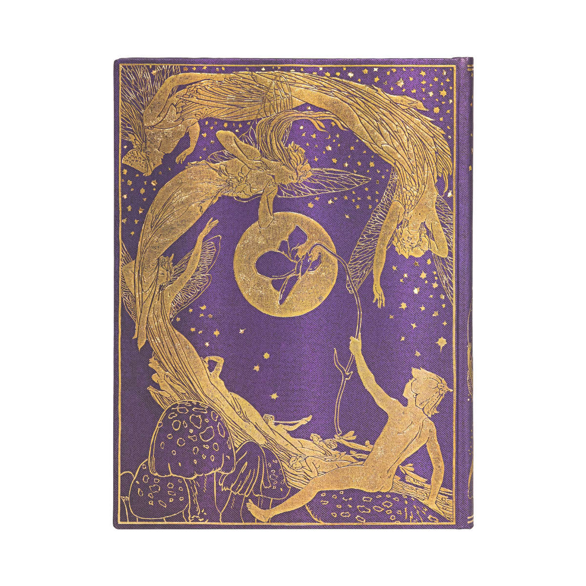Paperblanks Lang's Violet Fairy Ultra 7 x 9 Inch Journal