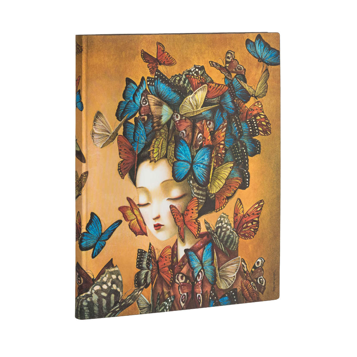 Paperblanks Flexis Madame Butterfly Ultra 7 x 9 Inch