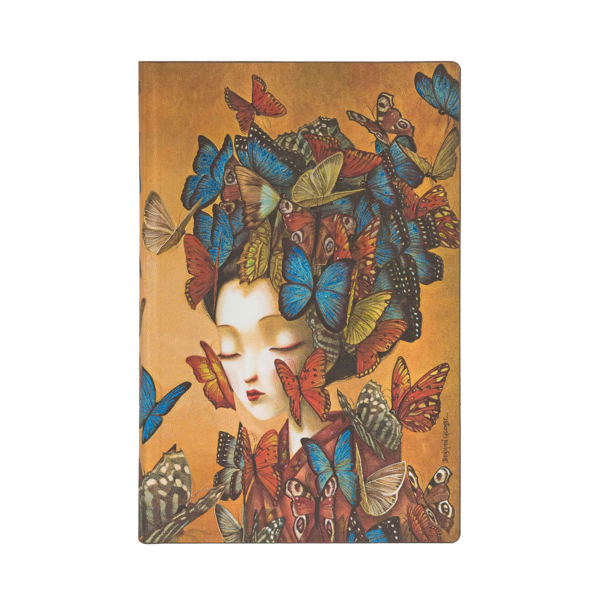 Paperblanks Flexis Madame Butterfly Mini 3.75 x 5.5 Inch
