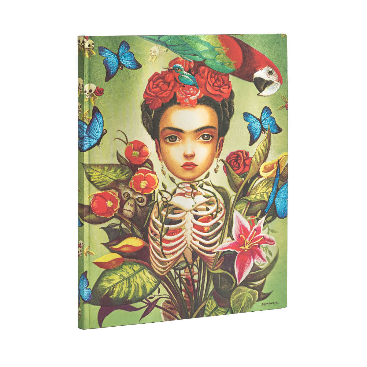 Paperblanks Flexis Frida Kahlo Ultra 7 x 9 Inch