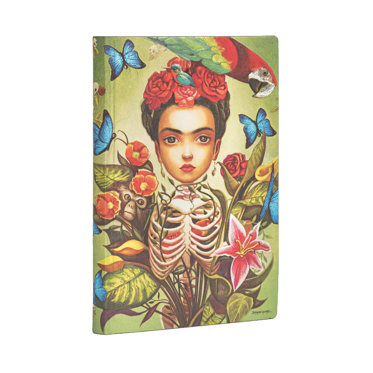 Paperblanks Flexis Frida Kahlo Mini 3.75 x 5.5 Inch