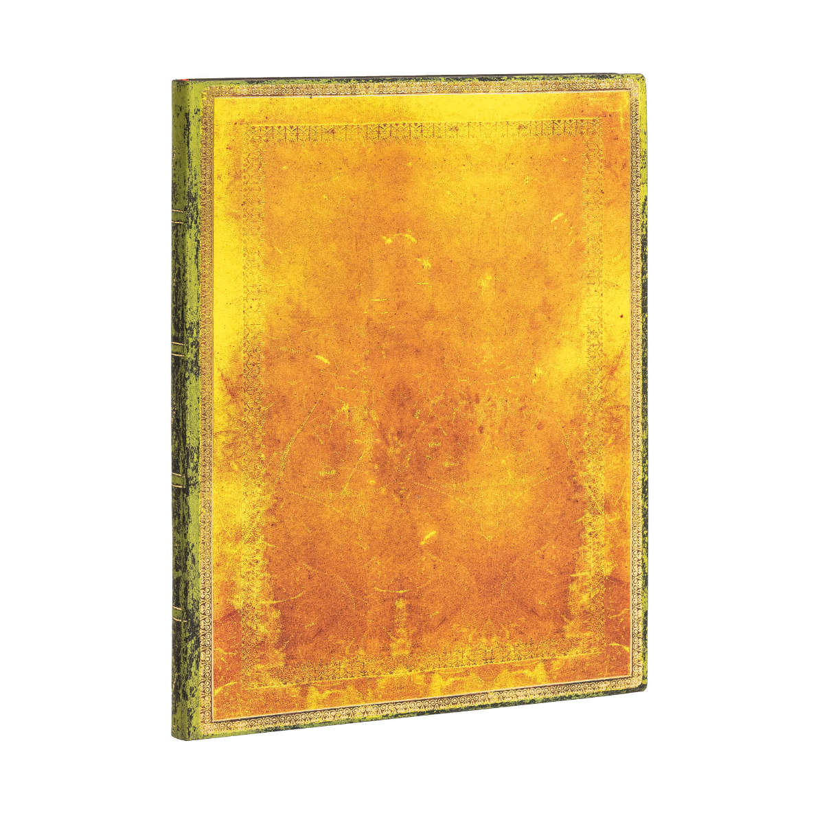 Paperblanks Flexis Old Leather Ochre Ultra 7x9 Inch, 176 Pages