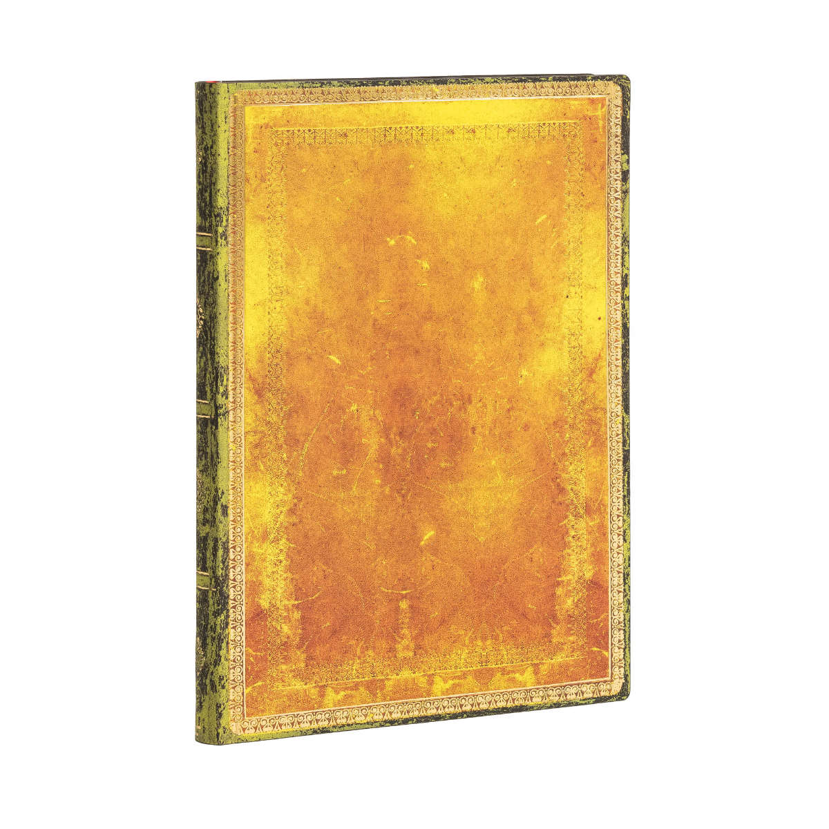 Paperblanks Flexis Old Leather Ochre Midi 5x7 Inch, 176 Pages