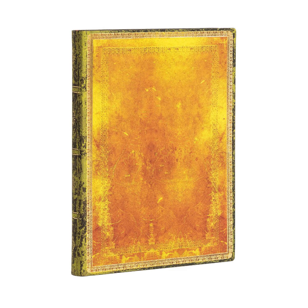 Paperblanks Flexis Old Leather Ochre Midi 5x7 Inch, 240 Lined