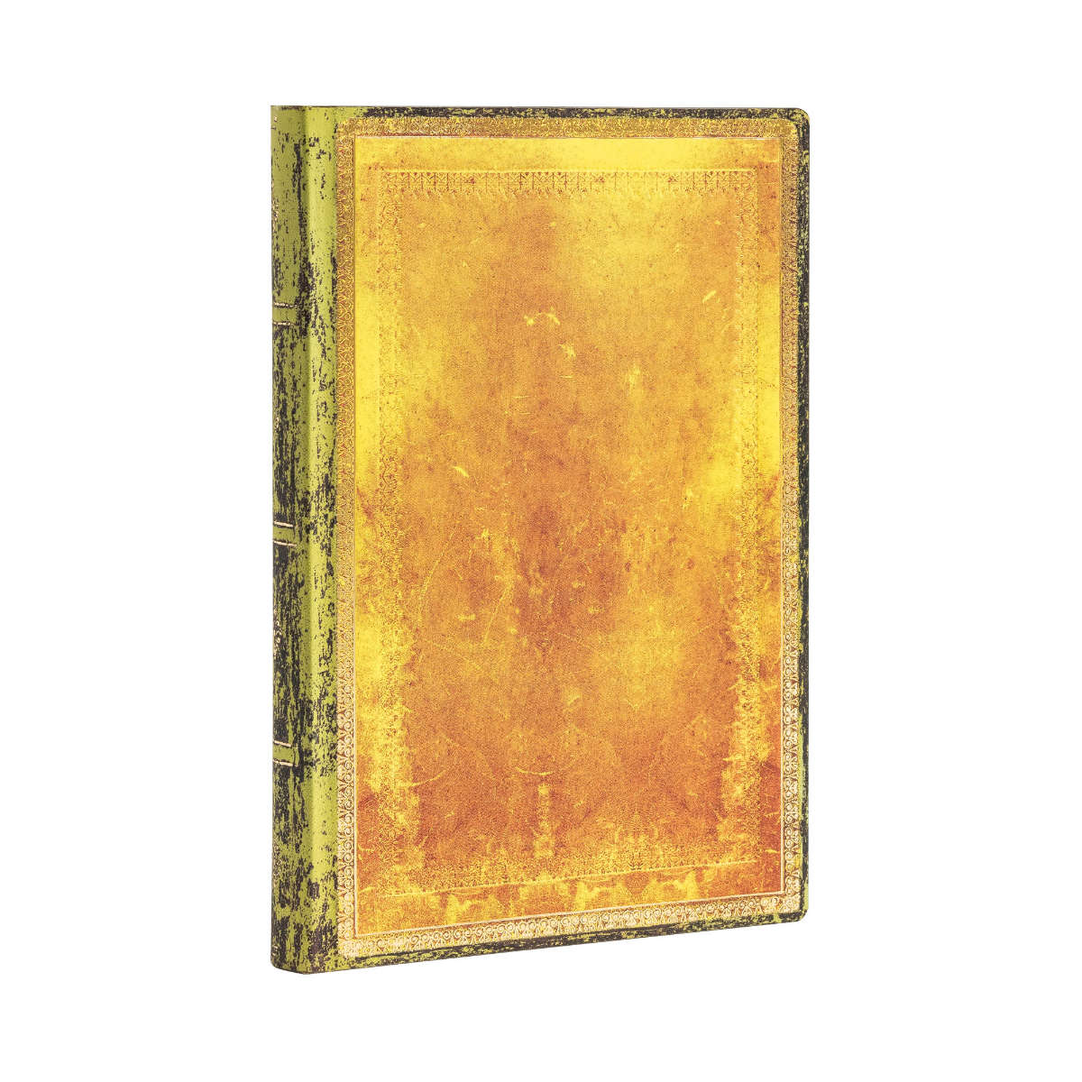 Paperblanks Flexis Old Leather Ochre Mini 3.75 x 5.5 Inch