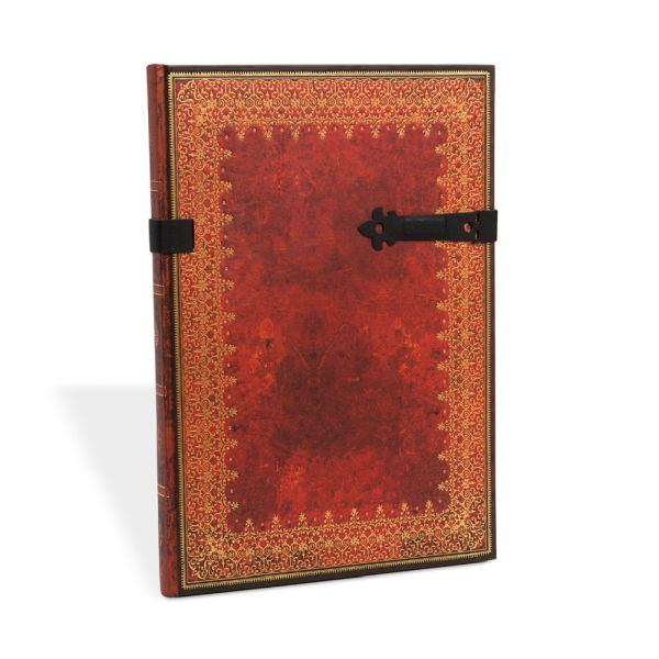 Paperblanks Old Leather Foiled Grande 8.25 x 11.75 Inch Journal