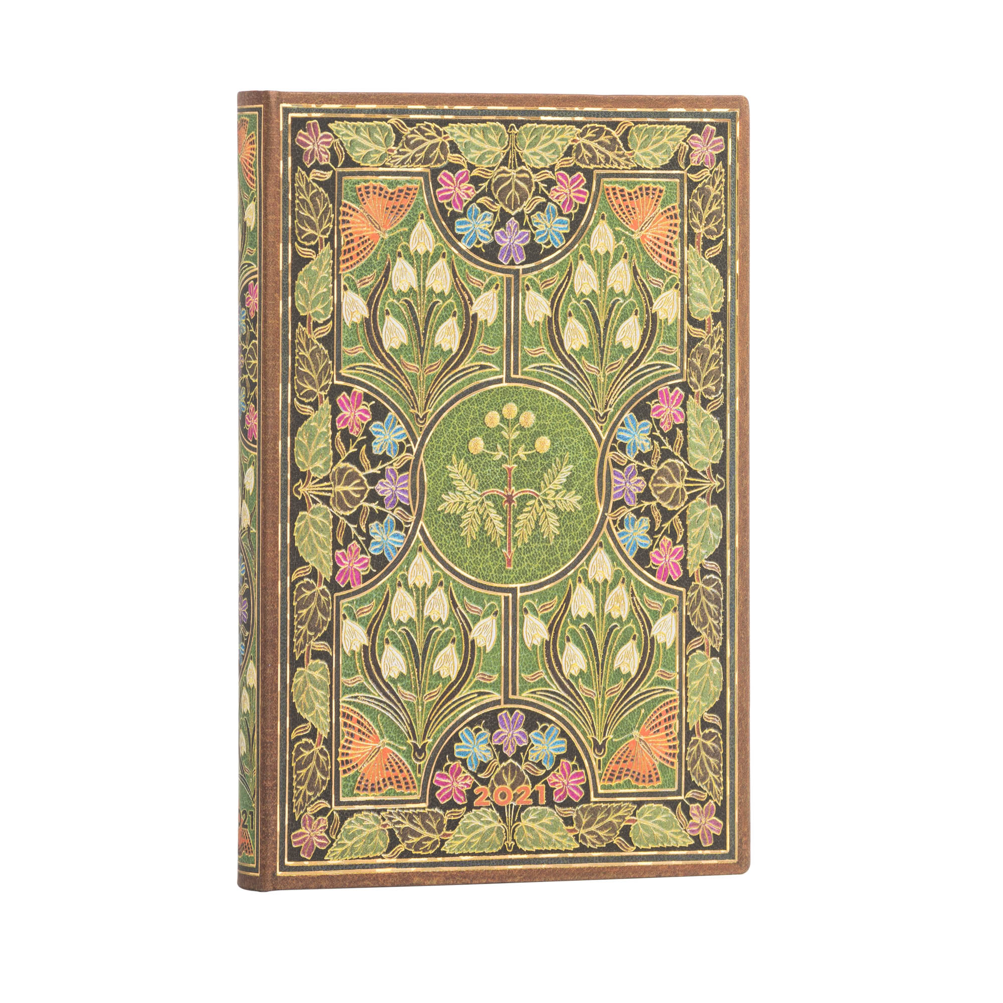 Paperblanks Mini Poetry in Bloom 2021 Week-At-A-Time Planner