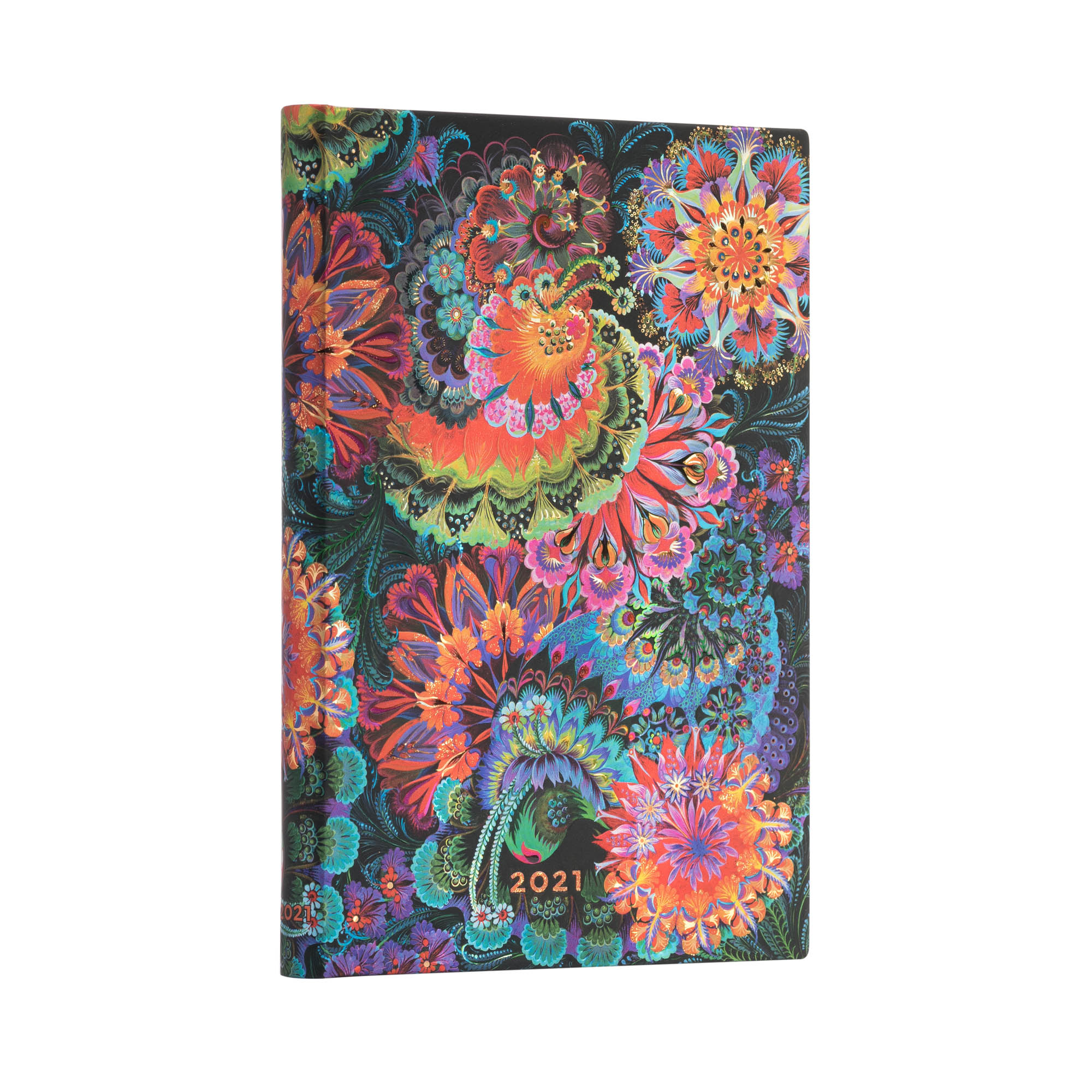 Paperblanks Midi 5x7 Moonlight 2021 Week-At-A-Time Planner