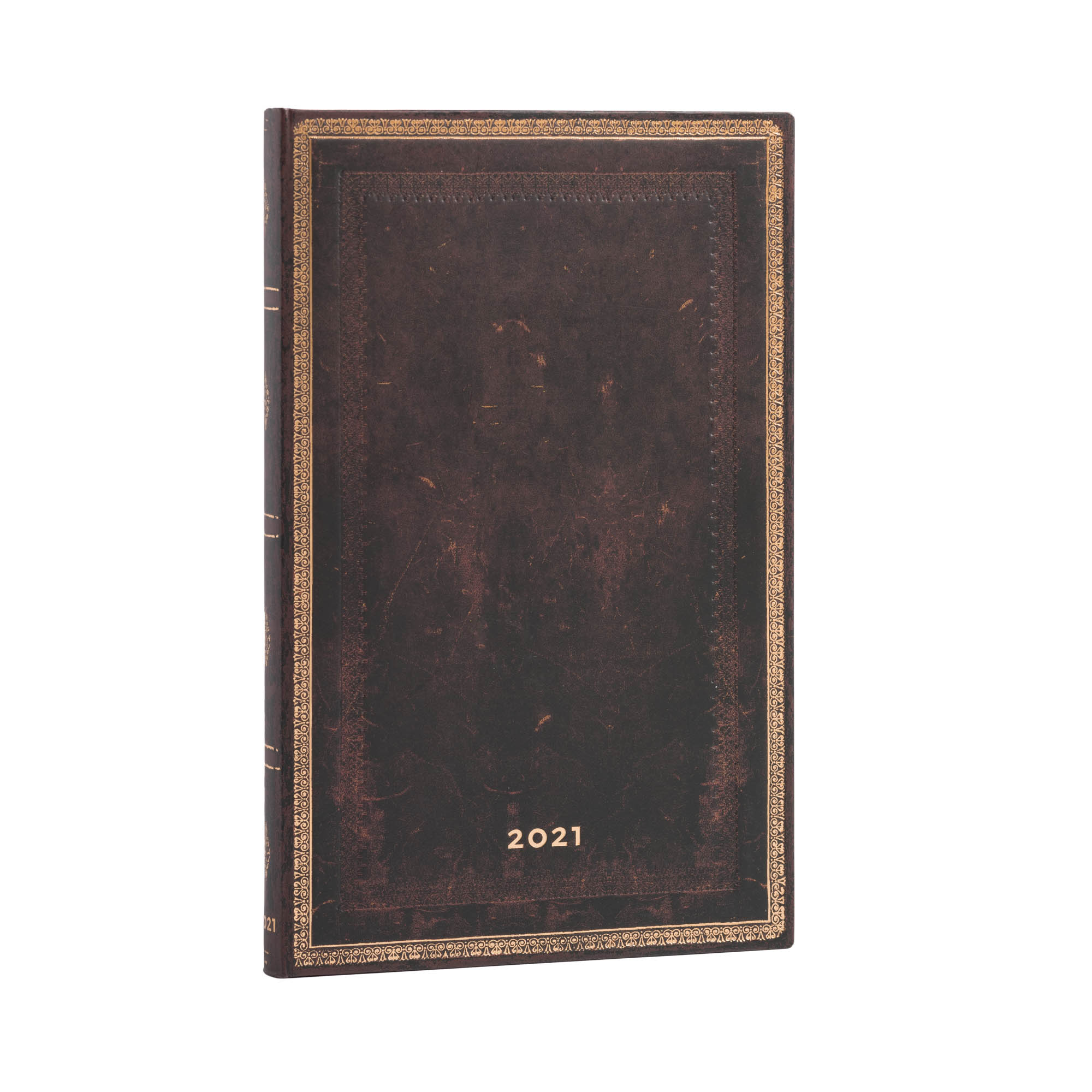 Paperblanks Maxi Black Moroccan 2021 Week-At-A-Time Planner