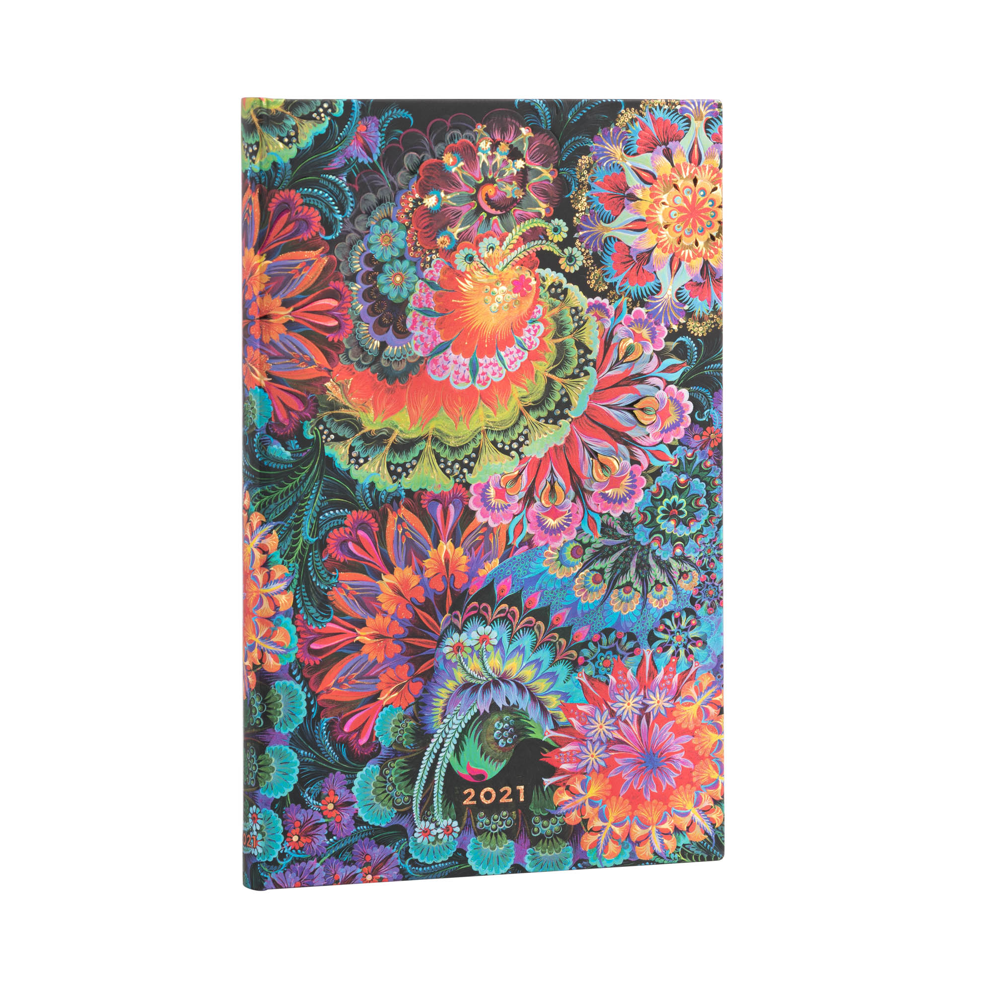 Paperblanks Maxi Moonlight 2021 Week-At-A-Time Planner