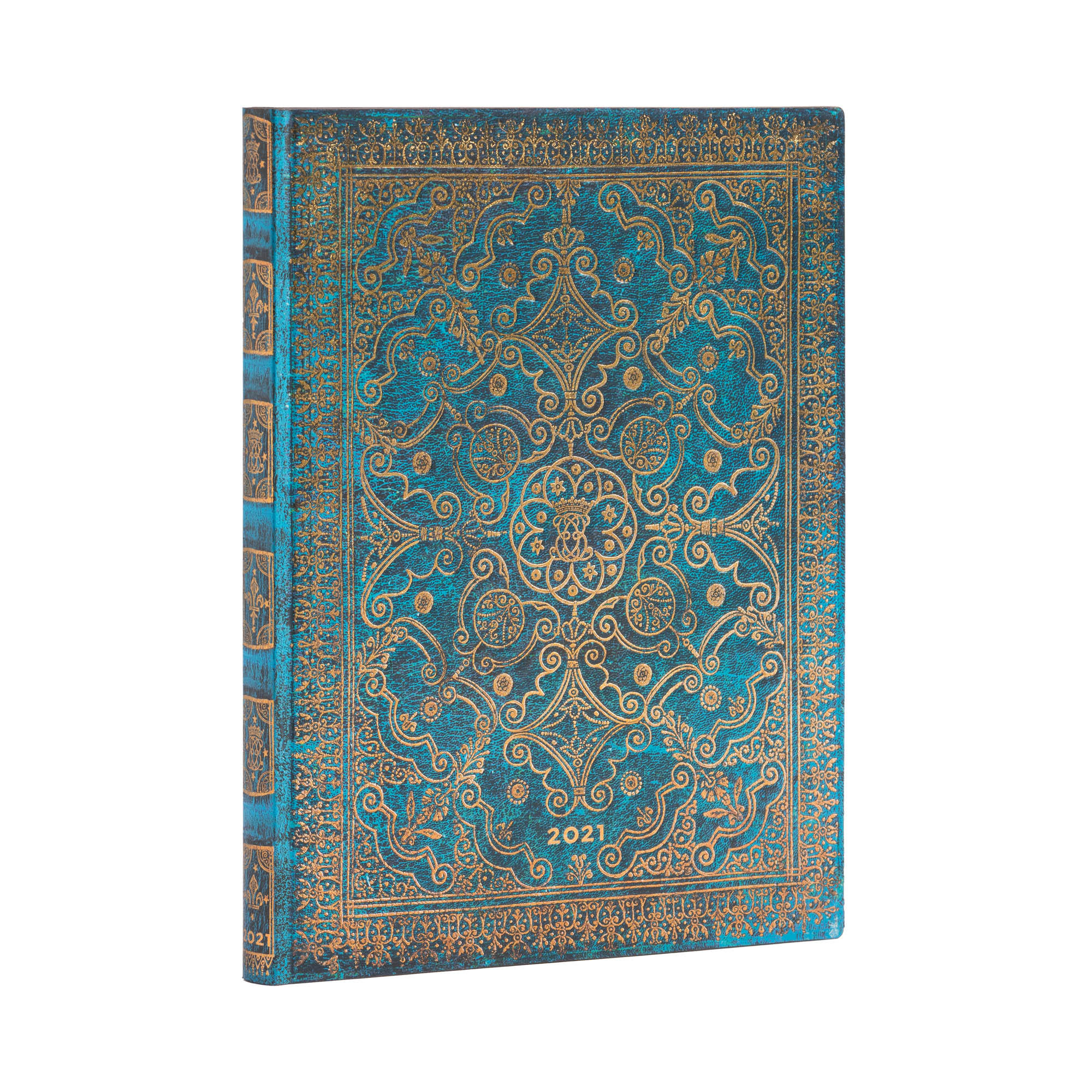 Paperblanks Flexi Ultra Azure 2021 Week-At-A-Time Planner
