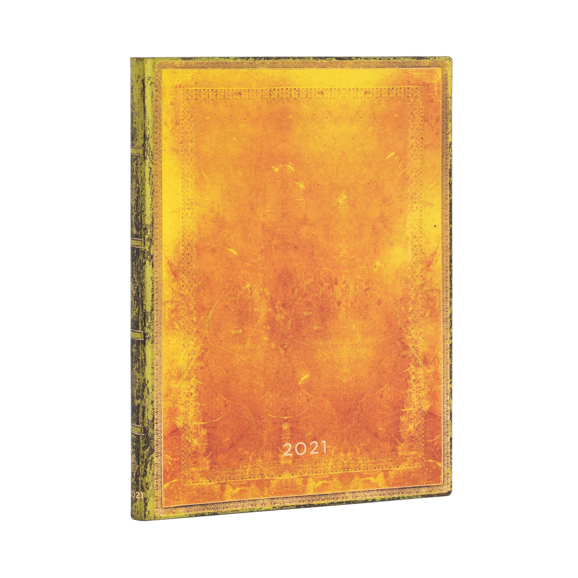 Paperblanks Flexi Ultra Ochre 2021 Week-At-A-Time Planner
