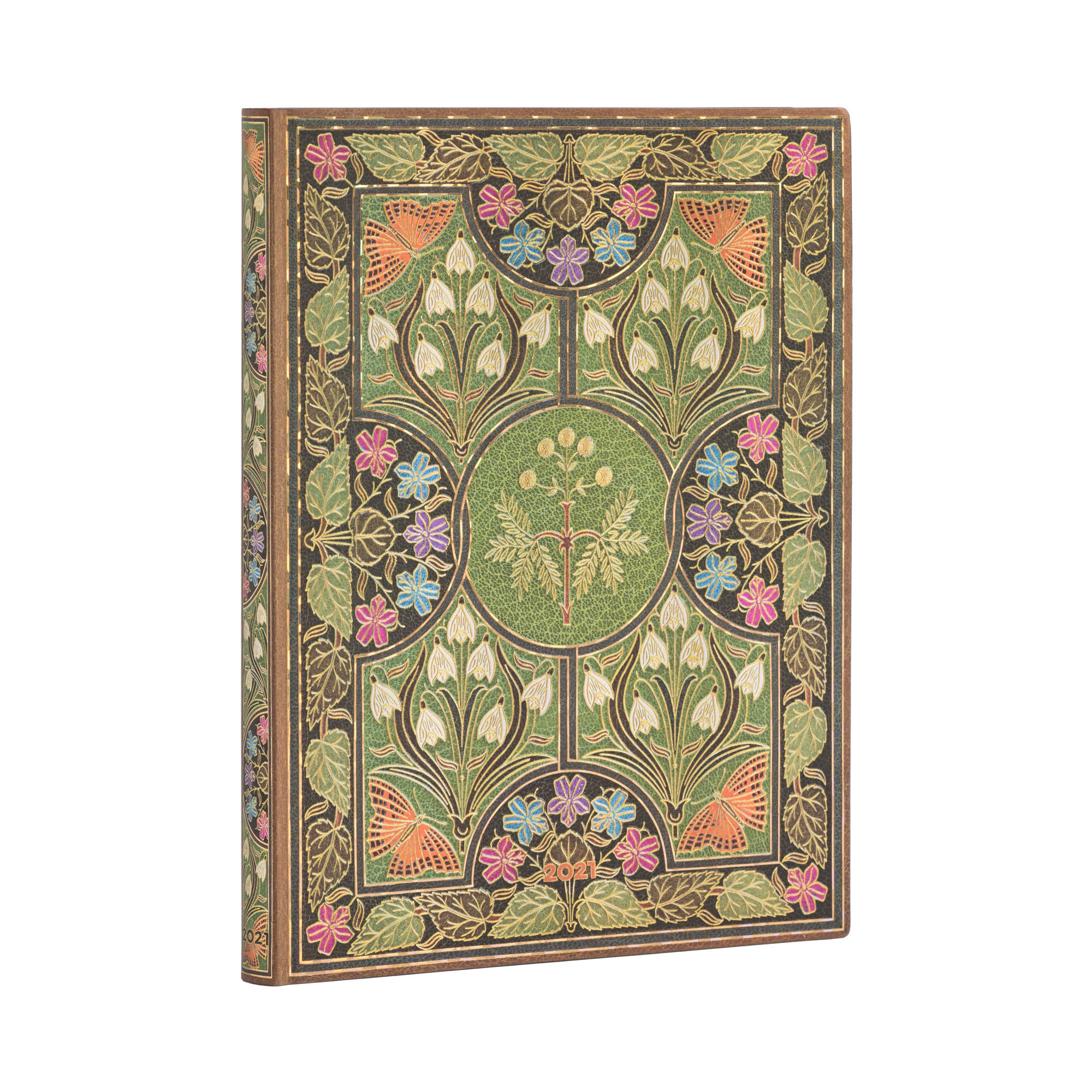 Paperblanks Flexi Ultra Poetry in Bloom 2021 Week-A-Time Planner