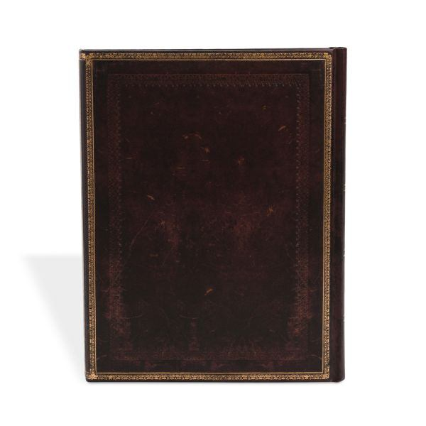 "Paperblanks Old Leather Black Moroccan 7 x 9"" Ultra Journal"
