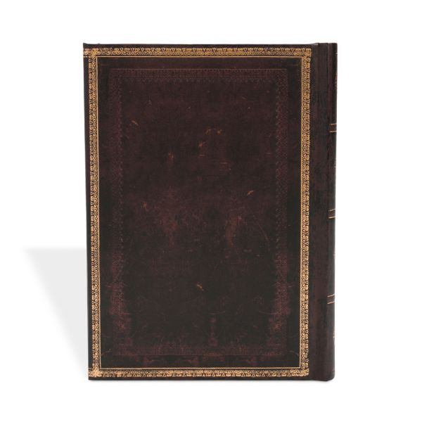 Paperblanks Old Leather Black Moroccan Midi 5 x 7 Inch Journal