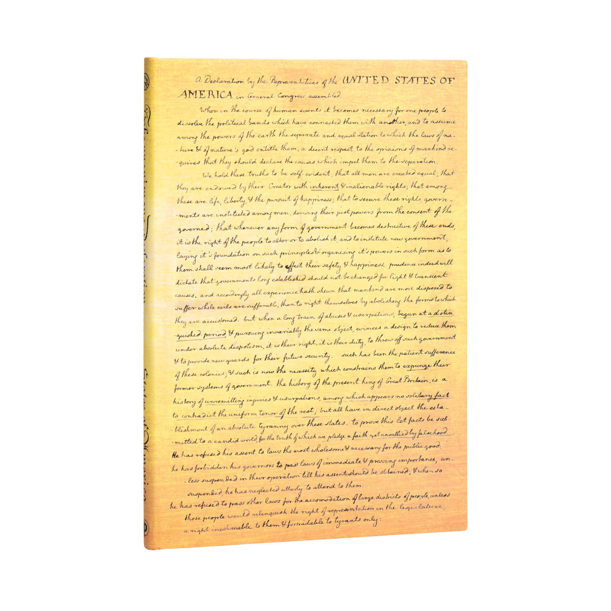 Paperblanks Grande Declaration of Independence Journal