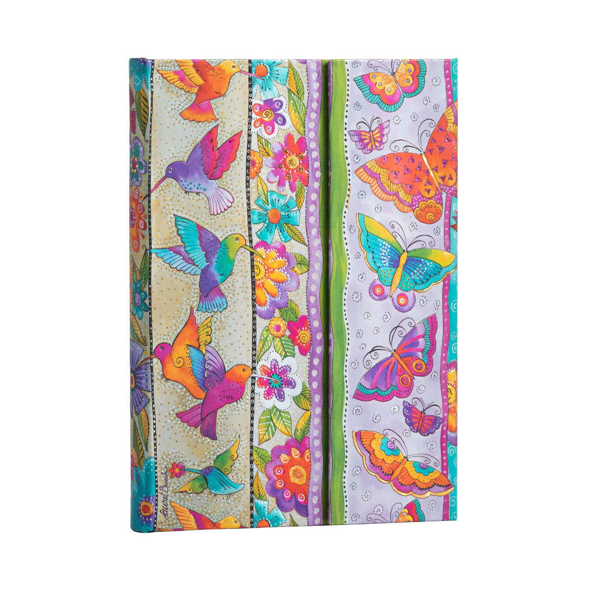 Paperblanks Laurel Burch Hummingbirds & Flutterbyes Midi