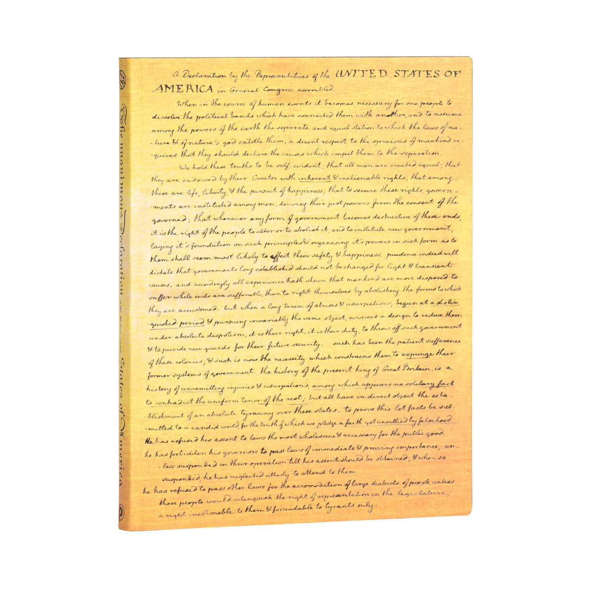 Paperblanks Flexis Ultra Declaration of Independence Journal