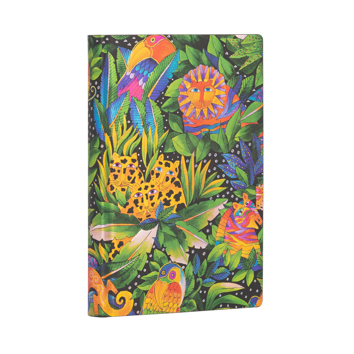 Paperblanks Flexis Laurel Burch Jungle Song Mini Journal